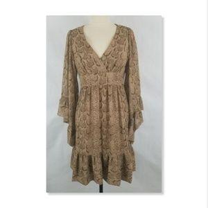 Betsey Johnson Bambi Bell Sleeve Boho Dress